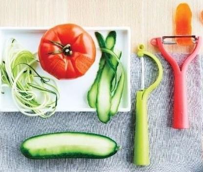 Набор овощечисток: универсальная и вертикальная