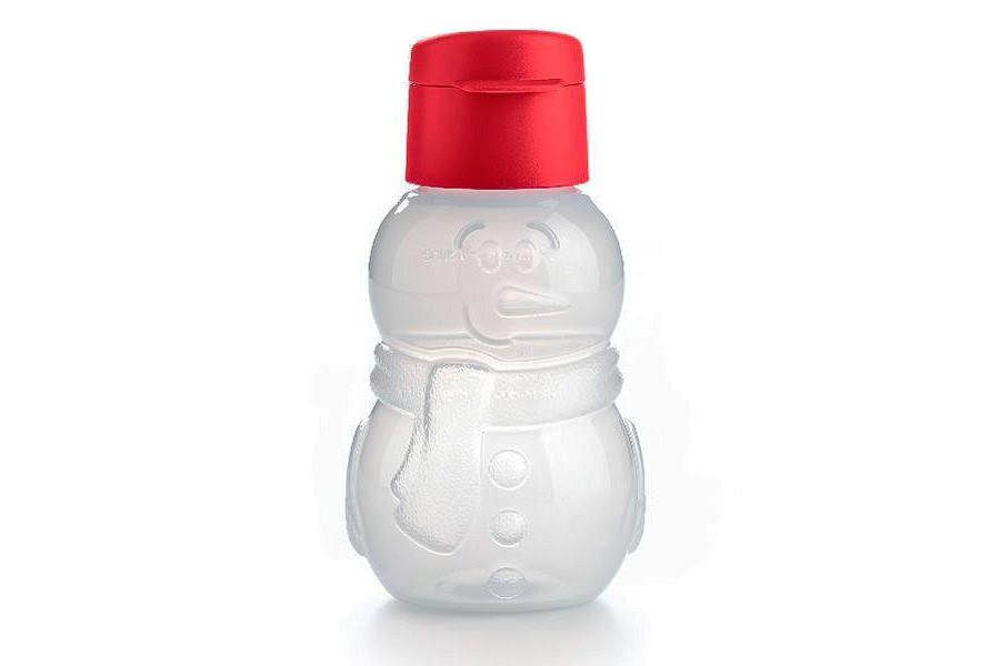 "Эко-бутылочка фигурная ""Снеговик"" 350мл"