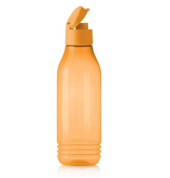 Эко-бутылочка треугольная 750мл с клапаном